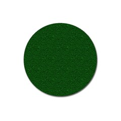 Texture Green Rush Easter Magnet 3  (Round)