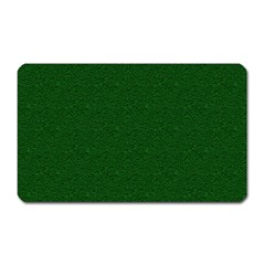 Texture Green Rush Easter Magnet (Rectangular)