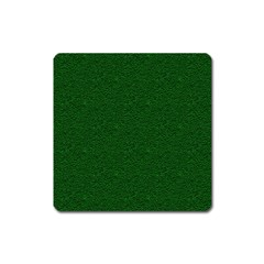 Texture Green Rush Easter Square Magnet