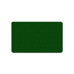 Texture Green Rush Easter Magnet (Name Card)