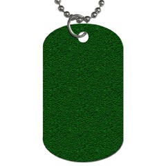 Texture Green Rush Easter Dog Tag (Two Sides)