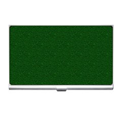 Texture Green Rush Easter Business Card Holders