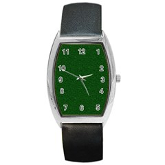 Texture Green Rush Easter Barrel Style Metal Watch