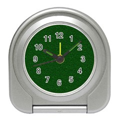 Texture Green Rush Easter Travel Alarm Clocks