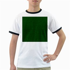 Texture Green Rush Easter Ringer T-Shirts