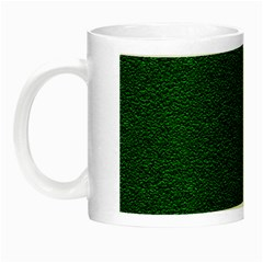 Texture Green Rush Easter Night Luminous Mugs by Simbadda