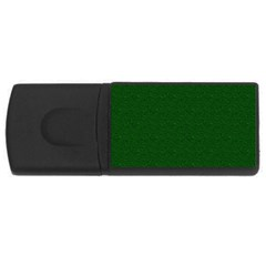 Texture Green Rush Easter USB Flash Drive Rectangular (4 GB)