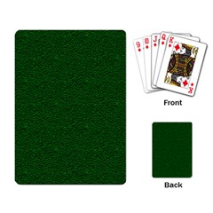 Texture Green Rush Easter Playing Card