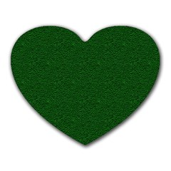 Texture Green Rush Easter Heart Mousepads