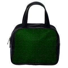Texture Green Rush Easter Classic Handbags (One Side)