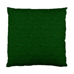 Texture Green Rush Easter Standard Cushion Case (two Sides) by Simbadda