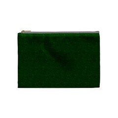 Texture Green Rush Easter Cosmetic Bag (medium)  by Simbadda