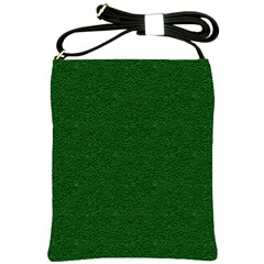 Texture Green Rush Easter Shoulder Sling Bags