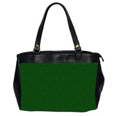 Texture Green Rush Easter Office Handbags (2 Sides)