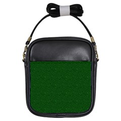 Texture Green Rush Easter Girls Sling Bags