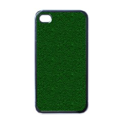 Texture Green Rush Easter Apple iPhone 4 Case (Black)