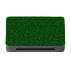 Texture Green Rush Easter Memory Card Reader with CF
