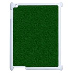 Texture Green Rush Easter Apple iPad 2 Case (White) Front