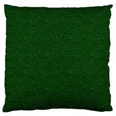 Texture Green Rush Easter Large Cushion Case (two Sides) by Simbadda