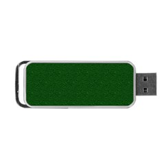 Texture Green Rush Easter Portable USB Flash (Two Sides)