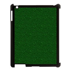 Texture Green Rush Easter Apple iPad 3/4 Case (Black)
