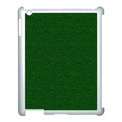 Texture Green Rush Easter Apple iPad 3/4 Case (White)
