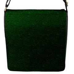 Texture Green Rush Easter Flap Messenger Bag (S)
