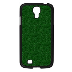 Texture Green Rush Easter Samsung Galaxy S4 I9500/ I9505 Case (Black)