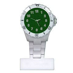 Texture Green Rush Easter Plastic Nurses Watch