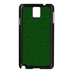 Texture Green Rush Easter Samsung Galaxy Note 3 N9005 Case (Black)