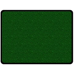 Texture Green Rush Easter Double Sided Fleece Blanket (Large)