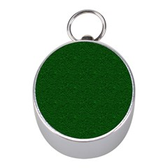 Texture Green Rush Easter Mini Silver Compasses