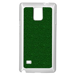 Texture Green Rush Easter Samsung Galaxy Note 4 Case (White)