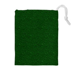 Texture Green Rush Easter Drawstring Pouches (Extra Large)