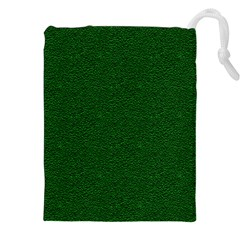 Texture Green Rush Easter Drawstring Pouches (XXL)