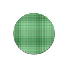 Green1 Magnet 3  (round) by PhotoNOLA