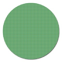 Green1 Magnet 5  (round) by PhotoNOLA