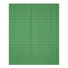 Green1 Shower Curtain 60  X 72  (medium)