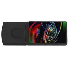 Abstraction Dive From Inside Usb Flash Drive Rectangular (4 Gb) by Simbadda