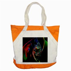 Abstraction Dive From Inside Accent Tote Bag by Simbadda