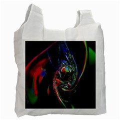 Abstraction Dive From Inside Recycle Bag (one Side) by Simbadda
