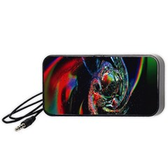 Abstraction Dive From Inside Portable Speaker (black) by Simbadda