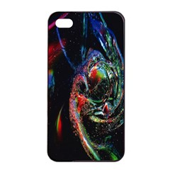 Abstraction Dive From Inside Apple Iphone 4/4s Seamless Case (black) by Simbadda