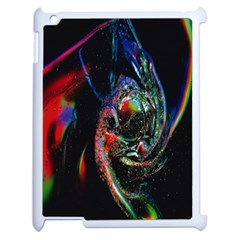 Abstraction Dive From Inside Apple Ipad 2 Case (white) by Simbadda