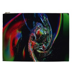 Abstraction Dive From Inside Cosmetic Bag (xxl)  by Simbadda
