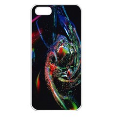 Abstraction Dive From Inside Apple Iphone 5 Seamless Case (white) by Simbadda
