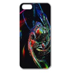 Abstraction Dive From Inside Apple Seamless Iphone 5 Case (clear) by Simbadda