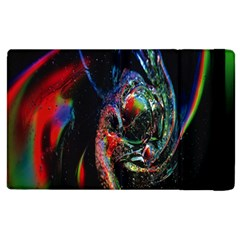 Abstraction Dive From Inside Apple Ipad 2 Flip Case by Simbadda