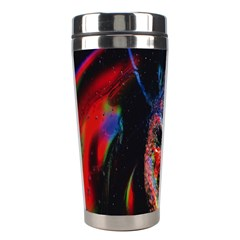 Abstraction Dive From Inside Stainless Steel Travel Tumblers