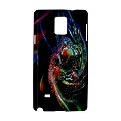 Abstraction Dive From Inside Samsung Galaxy Note 4 Hardshell Case by Simbadda